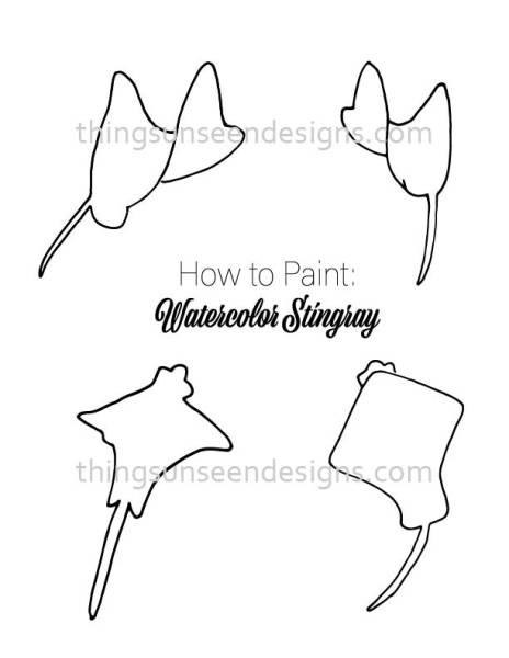 Stingray outline template for blog post