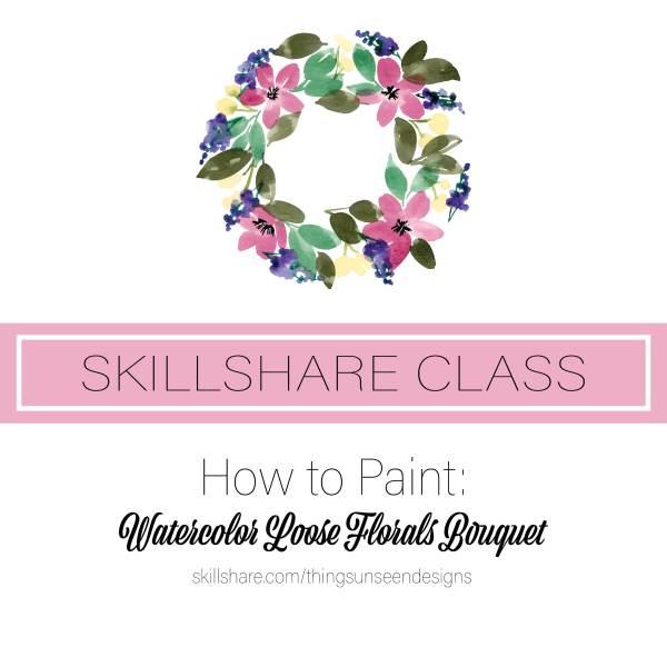 Skillshare class alert graphic